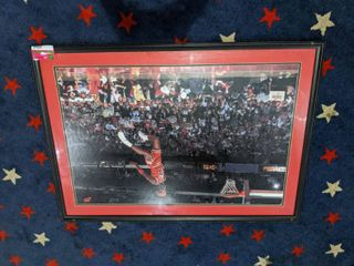 Framed Michael Jordan Chicago Bulls Poster