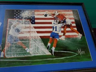 lacrosse Painted Picture