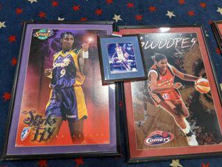 Assorted Framed WNBA Posters