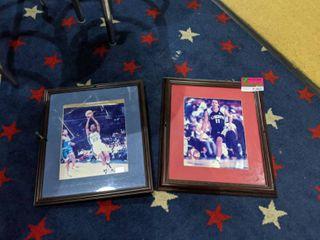 2  WNBA Framed Posters