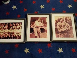 3  Old School Baseball Pictures