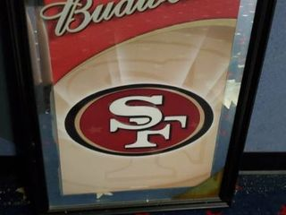 23in x 31in Budweiser San Francisco 49ers Picture