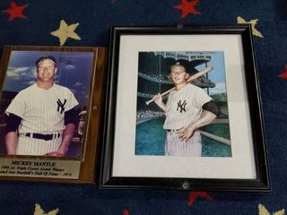 2  Mickey Mantle Pictures