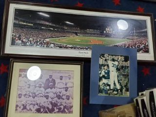 First Pitch 1997 Picture  World Series Yankees Picture  Old School Chicago Baseball Team