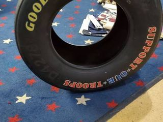 Goodyear Nascar Tire  Support Our Troops