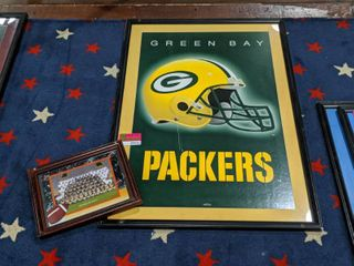 Green Bay Packers Framed Posters