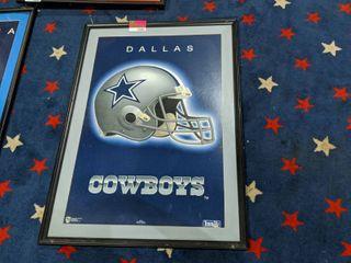 Dallas Cowboys Framed Poster