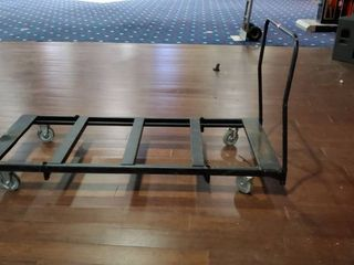 6ft Metal Cart On Casters