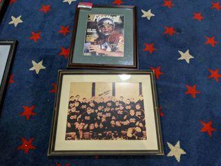 2  Framed NFl Posters