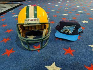 Greenbay Packers Helmet  Jacksonville Jaguars Baseball Cap