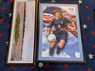 Framed Soccer Posters