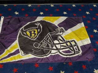 3ft x 5ft Baltimore Ravens Flag