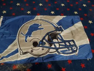 3ft x 5ft Detriot Lions Flag