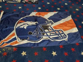 3ft x 5ft Denver Broncos Flag