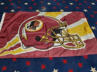 3ft x 5ft Washington Redskins Flag
