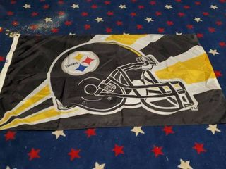 3ft x 5ft Pittsburg Steelers Flag