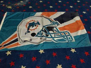 3ft x 5ft Miami Dolphins Flag