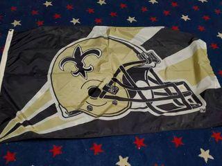 3ft x 5ft New Orleans Saints Flag