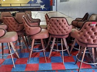 12  Bar Height Chairs