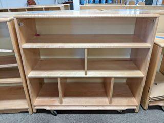 Wooden Bookshelf  30000E4129