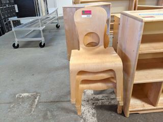 3  Wooden Children s Chairs