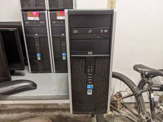 2  HP Compaq 8100 Elite Convertible Minitower Intel Inside Core i3 Windows Vista Product Number AY031AV
