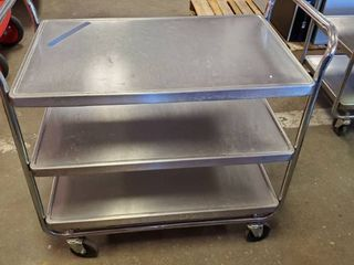 Stainless Rolling Cart