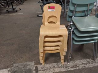 5  Wooden Children s Chairs
