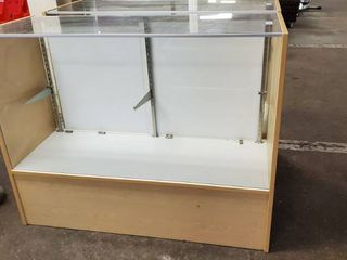 Wood Glass Display Case