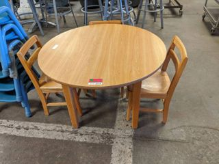 Children s Wooden Table With These Matching Chairs