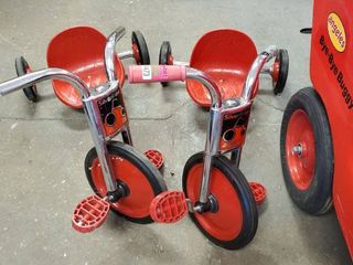 2  Silver Rider Tricycles