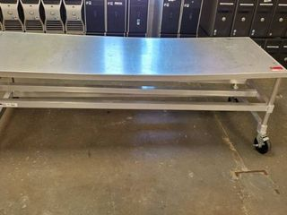 6ft Aluminum Rolling Table