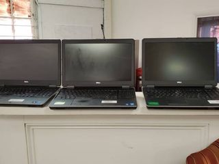 3  Dell latitude E6540 laptops With Docking Stations