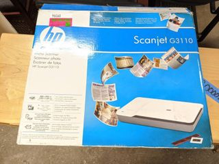HP Scanner G3110 Photo Scanner