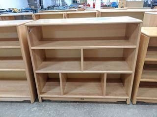 1  Wooden Bookshelf  3000E4148