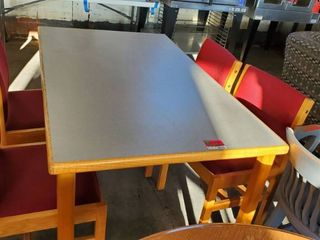 5ft x 36in Table With 4 Chairs