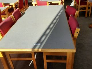 6ft x 3ft Table With 4 Chairs