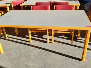 6ft x 3ft Table With 2 Chairs