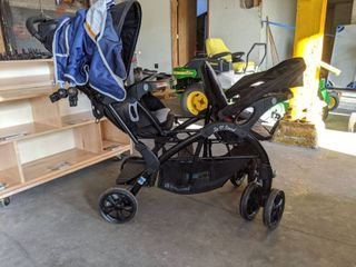 Baby Trend Sit And Stand Double Stroller SS76A80A