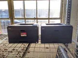 (2) Dell 2330dn Laser Printers