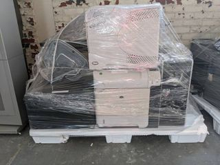 Pallet Of Assorted Computer Components, Printers, And Towers