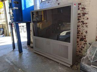 JVC 65Inch Screen I Art Pro Model Av-65WP55 On Casters