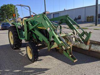John Deere 4500 Tractor With Bucket
