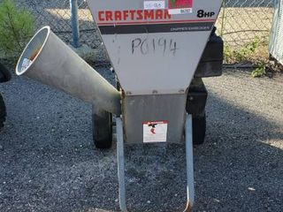 Craftsman 8HP Chipper/Shredder