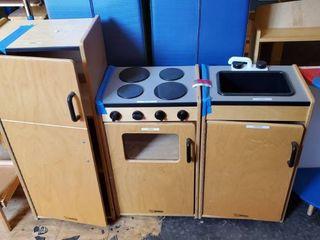 Kids Wood Kitchen