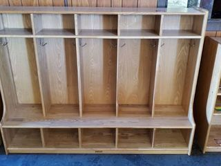 Wood Storage Compartments