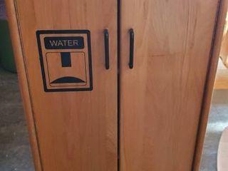 Kids Wood Storage Cabinet