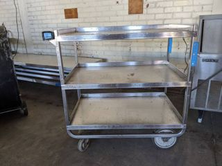LakeSide Stainless Steel Rolling Cart