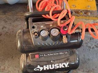 Husky 4 Gal Air Compressor