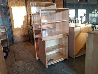 (4) Community Playthings Shelves